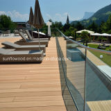 Synthetic Wood Plastic Composite Decking Material for WPC Flooring