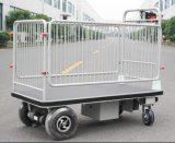 Powered Platform Truck Vehicles with Wire Fence (HG-1050)