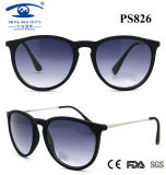 New Plastic with Metal Temple Sunglasses Wholesale Price UV 400 & CE FDA