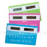 Solar Power Credit-Card Sized Calculator (LC523)