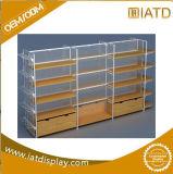 Pop up Wooden Display Storage Supermarket Shelf