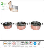 3ply Copper Cookware Sauce Pot