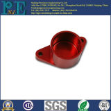 Customized Aluminum CNC Milling Red Anodized Products