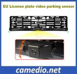 3 in 1 European Number Plate Rear View Camera Parking Sensor System
