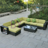 Indoor and Outdoor PE Rattan Wicker Leisure Patio Sofa Set