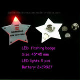 Custom Logo LED Magnetic Button with Logo Printed (3569)