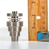 10mm/14mm/18mm Male/Female Titanium Nail for Smoking with Reversible Domeles (ES-TN-033)