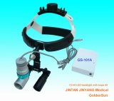 High Brightness Rechargeable Medical Ent LED Headlight with Magnifier