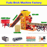 Qt4-24 Small Semi Automatic Interlocking Brick Making Machine Production Line