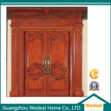 Customized Painted Solid Wooden Door for Villa (WDP 1002)