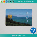 Beautiful Silver Hot Stamping 2kbyte Contact Smart IC Card
