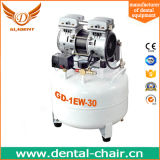 35L 1HP AC Power Piston Portable Mute Silent Low Noise Oil Free Medical Dental Air Compressor with Air Dryer
