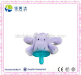 New Design Items Plush Hippo Baby Pacifier