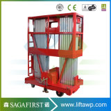 8m to 12m Light Weight Towable Aerial Lift Platforms Elevated Work Platform