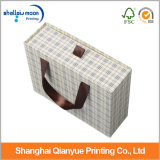 Hand-Held Versatile Storage Luxury Clothing Shoes Packing Paper Box (QY150201)