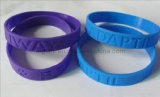 Debossed Silicone Wristbands Without Color
