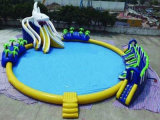 Inflatable Shark Water Park with Pool 12m Diameter