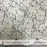 Scalloped French Lace Fabric with Scalloping (M2205-MG)