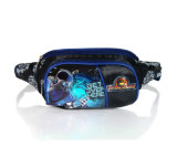 Cross Jacquard Children School Sport Waist Bag with Printing (BSH20729)