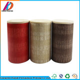 Biodegradable Round Paper Tube for Tea with Wooden Lid