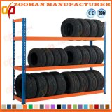 Longspan Metal Wheel Sand Tyres Racking Shelving Warehouse Racking (Zhr294)