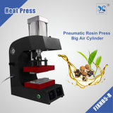 "Rosin heat press machine with 5""X3"" single arm heating plates"