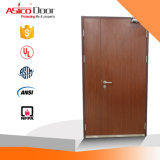 American Style Wh UL Tested Wooden Fire Door