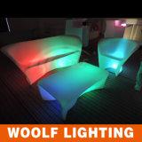 Night Club Sofa, Glowing LED Sofa, LED Two Sofa