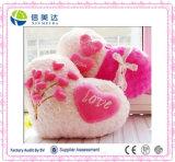 """I Love You"" Written Valentina′s Heart Shaped Pillow in Hotsale"