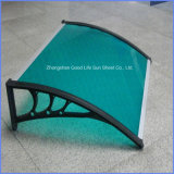 Hot-Selling Carbon Steel Fixed Waterproof Polycarbonate Awning Plastic Parts