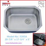 Undermount Single Bowl Stainless Steel Kitchen Sink, Bar Sink, Wash Sink (5345)