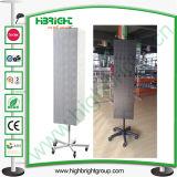 Floor Standing Spinning Pegboard Display Racks