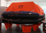 Solas Marine Open Reversible Inflatable Life Raft