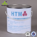 5L Round Metal Chemical Paint Ant Tin Pail with Handle