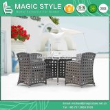Leisure Wicker Dining Set with Open Weaving Outdoor Dining Set (Magic Style)