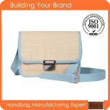 New Designer Promotional Fashion Straw Handbag