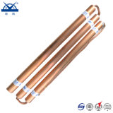 Electrolytic Electrode Pure Red Copper for Grounding Project