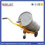 Manual Operate Drum Carrier with 3 Wheels