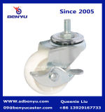 Light Duty Nylon Casters Wheels with Side Brake
