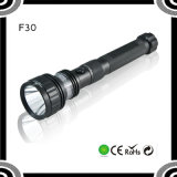 F30aluminum Tactical Police Xml T6 Red LED Flashlight Torch