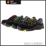 Low Cut PU/Rubber Outsole Suede Leather Safety Shoe (SN5408)
