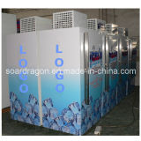 Popular Refrigerated Bagged Ice Storage Box with Logo