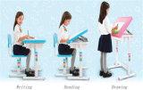 Sky Blue Steel Tube Ergonomic Children Table Baby Furniture