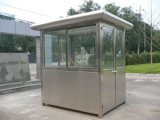 China Supplier Modern House Stainless Steel Sentry Box