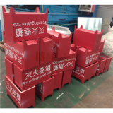 Red Color Special Made Aluminum Panel for Fire Extinguisher Box