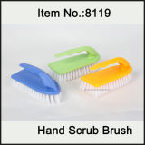 Short Handle Plastic Scrub Brush with PP Bristle