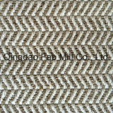 Antique Hemp Fabric in Herringbone Pattern (QF13-0058)