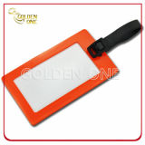 Manufacturer Made Best Embossed Soft PVC Luggage Tag