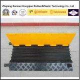 5 Channel Yellow Cover Rubber Cable Bridge