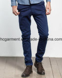 Man′s Walking Cargo Colorful Chino Soft Cotton Casual Silm Pants